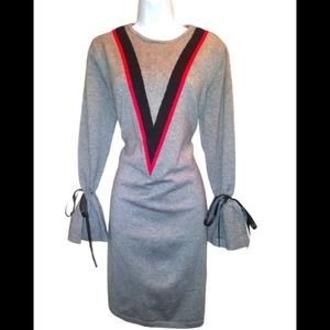 Simply couture plus size 3X gray dress